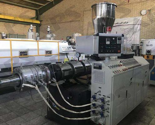pvc pipe & profile production line